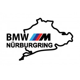 BMW STICKERS NURBURGRING M 1* - StickCompteur création stickers personnalisés