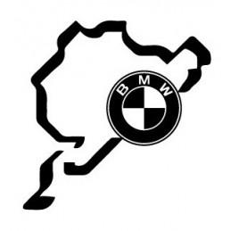 BMW STICKERS CARTE LOGO BM 1 * - StickCompteur création stickers personnalisés