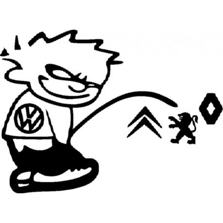 SALE GOSSE VW 1 * - StickCompteur création stickers personnalisés