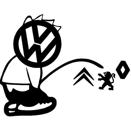 SALE GOSSE VW 2 * - StickCompteur création stickers personnalisés