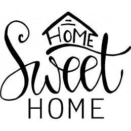 HOME SWEET HOME 1* - StickCompteur création stickers personnalisés