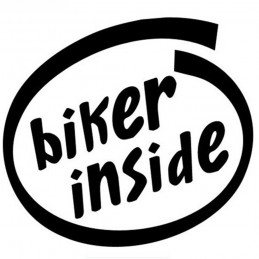 BIKER INSIDE 2003 Stickers*