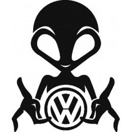 ALIEN VW Stickers* - StickCompteur création stickers personnalisés