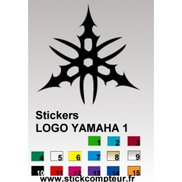 Stickers logo YAMAHA 1