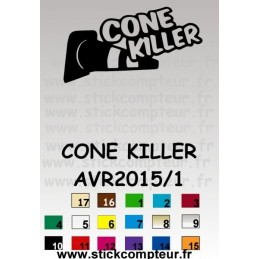 CONNE KILLER AVR2015/1