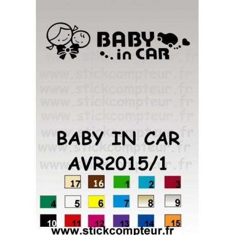 BABY IN CAR AVR2015/1 - 1