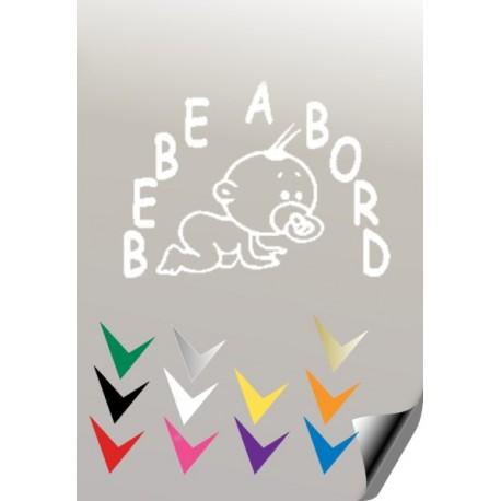 BEBE A BORD 3 Stickers * - 3
