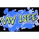 Mug VW LIFE BLEU - StickCompteur création stickers personnalisés