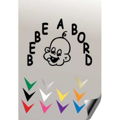 BEBE A BORD 1 Stickers * - 1