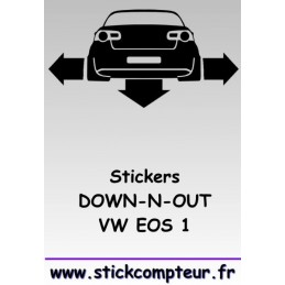 1 stickers Down-n-out EOS 1 - StickCompteur création stickers personnalisés