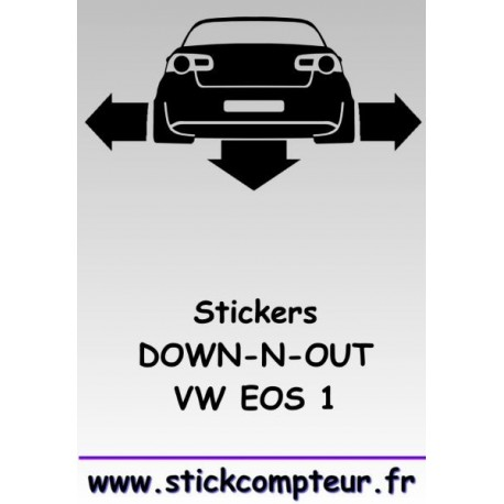 1 stickers Down-n-out EOS 1 - 2