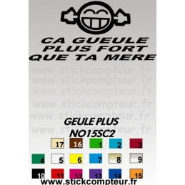 GEULE PLUS NO15SC2
