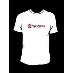 TEE-SHIRT col rond manches courtes MAD VW