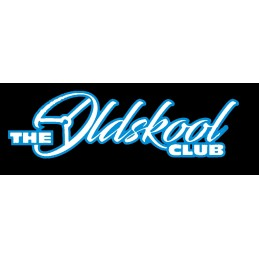 THE OLDSKOOL CLUB 2 COULEURS * - StickCompteur création stickers personnalisés
