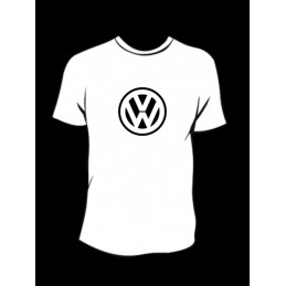 TEE-SHIRT col rond manches courtes VW 1