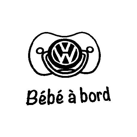 TETINE VW 2108* - StickCompteur création stickers personnalisés