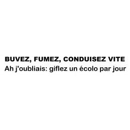 BUVEZ FUMEZ 2109 Stickers* - StickCompteur création stickers personnalisés