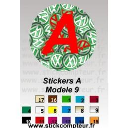 A Modele 9 - StickCompteur création stickers personnalisés