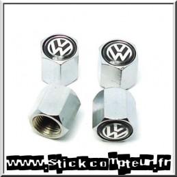 4 Valves de roue VW noir - StickCompteur création stickers personnalisés