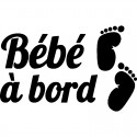 STICKERS BEBE A BORD  VOITURE